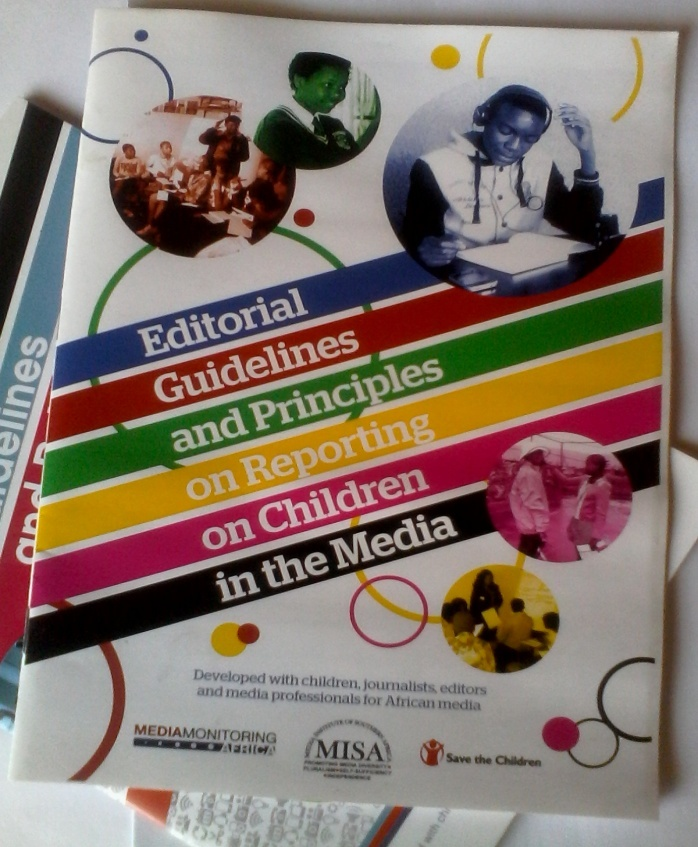 MISA Lesotho launches editorial guidelines for reporting on children