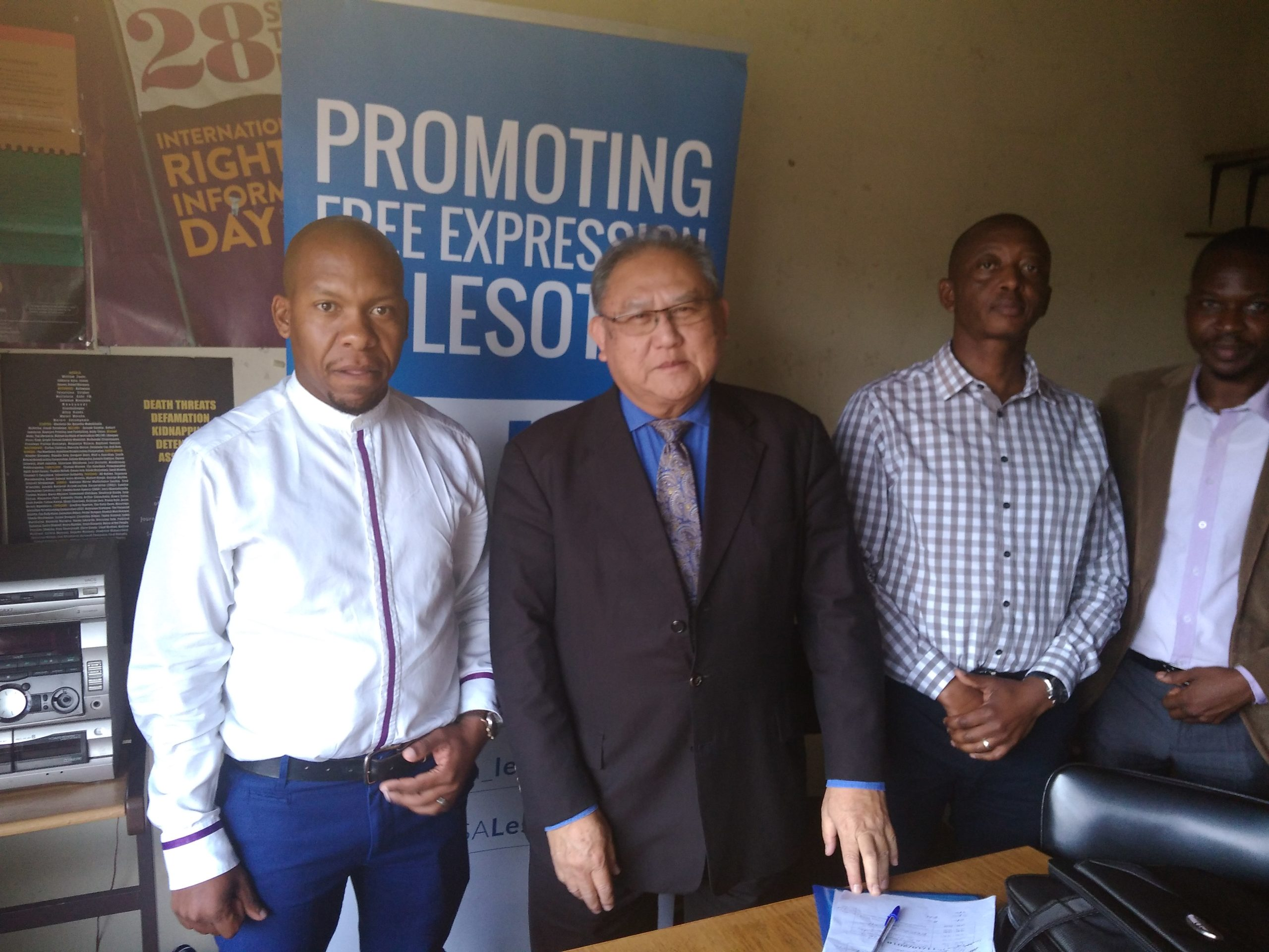 African Union commissioner of human and people's rights meets Lesotho media