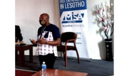 MISA Lesotho Chair: Covid 19 exposed radio industry's weakness