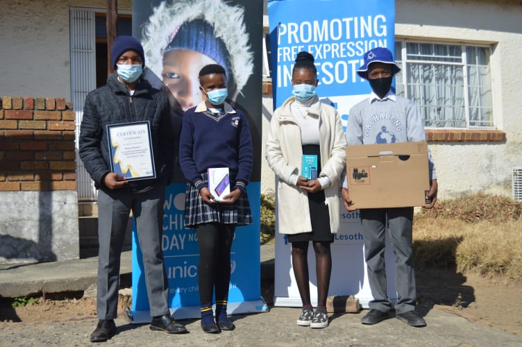 U-Report Essay Competition Awards